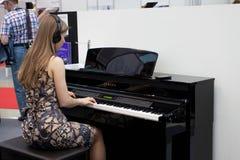 Muzikale tentoonstelling Royalty-vrije Stock Foto's
