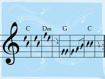 Muzikale vogels Stock Foto