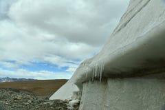 Muztagh ata glacier Stock Image