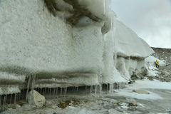 Muztagh ata glacier Royalty Free Stock Images