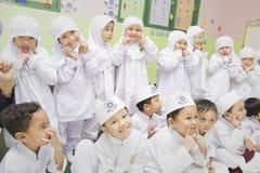 Muzułmańscy ucznie Fotografia Royalty Free