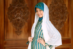 muzułmańska dziewczyna Obrazy Stock