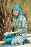 muzułmańska dziewczyna Obrazy Royalty Free