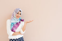 Muzułmańska kobieta Fotografia Royalty Free