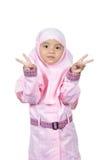 Muzułmańska mała dziewczynka Zdjęcie Royalty Free