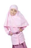 Muzułmańska mała dziewczynka Fotografia Royalty Free