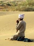 Muzułmańska modlitwa Zdjęcie Royalty Free