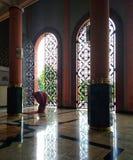 Muzułmańska modlitwa w meczecie Zdjęcie Royalty Free