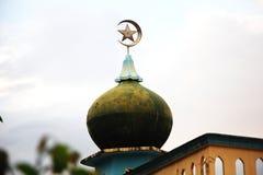 Muzułmańska religii kopuły wiary wolność fotografia royalty free