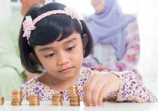 Muzułmański bankowości pojęcie zdjęcie stock