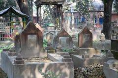 Muzułmański cmentarz w Kolkata Fotografia Stock