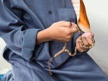 Muzułmański dziecka modlenie dla Allah Obrazy Stock