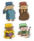 Muzułmański kreskówka set Zdjęcie Stock
