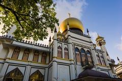 Muzułmański meczetowy zmierzch Fotografia Stock