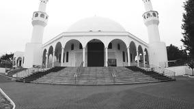 Muzułmański modlitewny meczet dzwonił Omar Ibn al meczet zdjęcie wideo