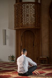 muzułmański modlitwa Fotografia Royalty Free