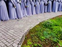 Muzułmański szkoła średnia bal Obraz Royalty Free