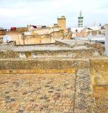 muzułmański w meczecie historia symbolu Morocco Africa mina Obraz Stock