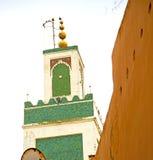 muzułmański w meczecie historia symbolu Morocco Africa mina Obrazy Royalty Free