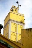 muzułmański w meczecie historia symbolu Morocco Africa mina Obrazy Stock
