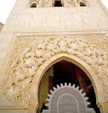 muzułmański w meczecie historia symbolu Morocco Africa minare Zdjęcia Royalty Free