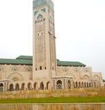 muzułmański w meczecie historia symbolu Morocco Africa minare Fotografia Stock