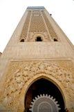 muzułmański w meczetowej Morocco Africa minaretowej religii i Obraz Royalty Free