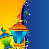 Muzułmańskiej społeczności Święty miesiąc Ramadan Kareem. royalty ilustracja