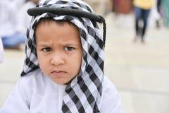 Muzułmanie świętuje Eid al-Fitr który zaznacza końcówkę miesiąc Ramadan Zdjęcia Royalty Free
