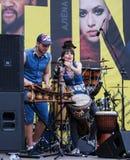 Muzycy krajowi instrumenty Afryka Zdjęcie Royalty Free