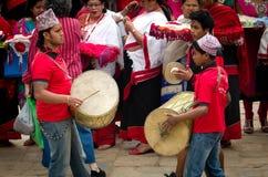 Muzycy w Bhaktapur, Nepal Fotografia Royalty Free