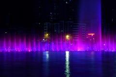 Muzyczna fontanna Obraz Royalty Free