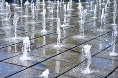 Muzyczna fontanna Fotografia Stock