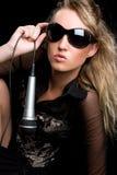 muzyczna kobieta zdjęcia royalty free