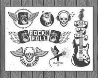 Muzyczna kolekcja Obraz Royalty Free
