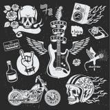 Muzyczna kolekcja Fotografia Stock