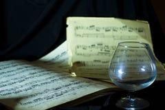 Muzyczna książka Zdjęcia Stock