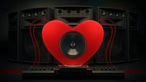 Muzyczna miłość Obraz Royalty Free