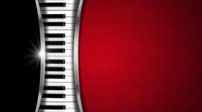 Muzyczna rocznik wizytówka Obrazy Stock