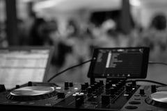 Muzyczna technologia Zdjęcia Royalty Free