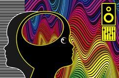 Muzyczna terapia i autyzm ilustracji