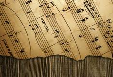 muzyczne notatki zdjęcie stock