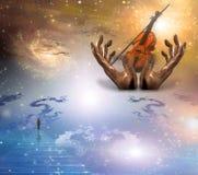 muzyczne sfery Obrazy Royalty Free
