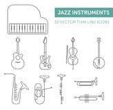 Muzyczni instrumenty Obraz Royalty Free