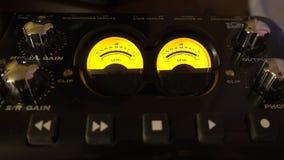 Muzyczni Pracowniani Analogowi Audio metry zbiory