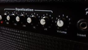 Muzyczny amplifikator Obrazy Royalty Free