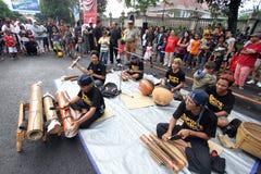 Muzyczny bambus Zdjęcia Royalty Free