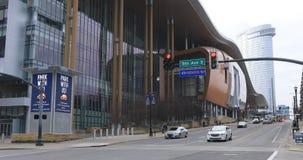 Muzyczny centrum miasta w Nashville, Tennessee 4K zdjęcie wideo