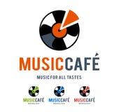 Muzyczny Cukierniany logo Obraz Stock