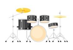 Muzyczny instrument - bębenu ki royalty ilustracja